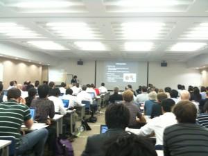 ACM ITS2011の様子1