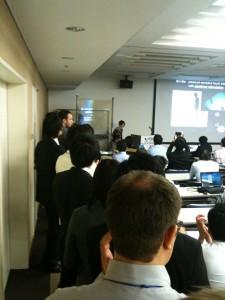 ACM ITS2011の様子3(Madnessの発表者から)