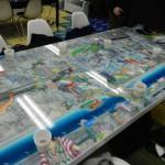 ミーティングテーブルの写真