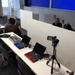 研究会会場での動画中継機材