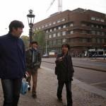 アムステルダム市内を歩く